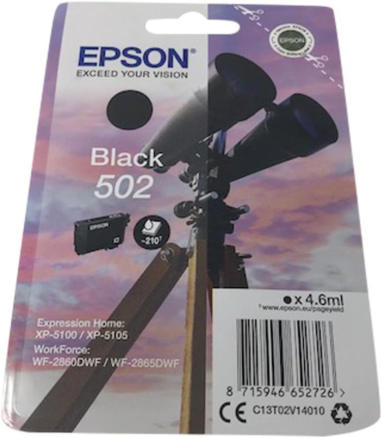 Druckerpatronen Für Epson Expression Home Xp5100 Xp5105 Workforce Wf2860dwf Wf2865dwf Black Bürobedarf Schreibwaren