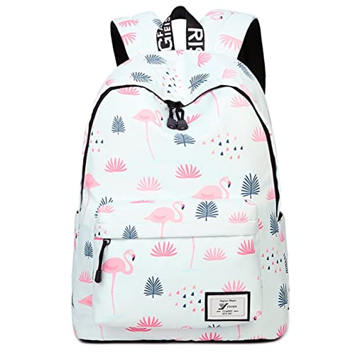 9eb24d8b78 Uniuooi Kids Flamingo Backpack School Bag for Teenagers Girls Boys