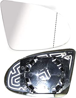 Außenspiegel Spiegelglas Spiegel Glas Ersatzglas Beheizbar Heizung Rechts Kompatibel mit A2 2000 2005 OEM 8Z1857536A