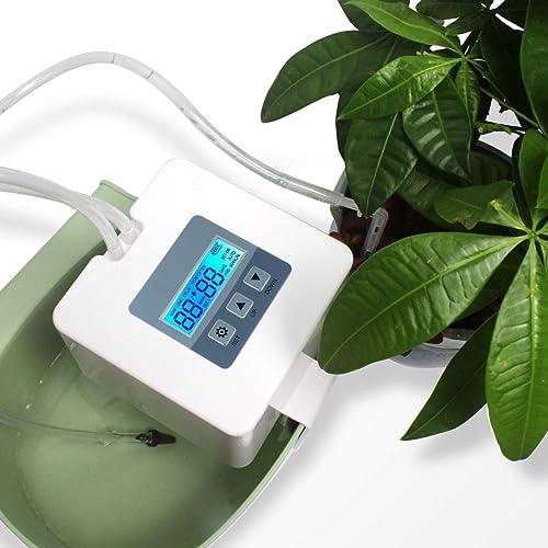 Landrip DIY Kit Goutte-à-Goutte pour Plante d'intérieur, système d'arrosage Automatique avec 30 Jours de minuterie programmable, idéal pour l'arrosage des Plantes Pendant Les Vacances