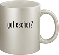 got escher? - Ceramic 11oz Silver Coffee Mug, Silver