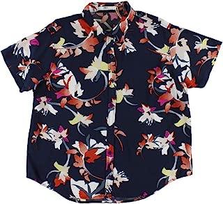 Obey Women's Jaya Short Sleeve Button Down Shirt
