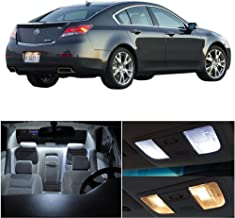 SCITOO LED Interior Lights 9 pcs White Package Kit Accessories Replacement Fits for Acura TL 1999-2003