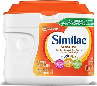 Similac雅培婴儿敏感配方奶粉 22.6盎司(6罐装)
