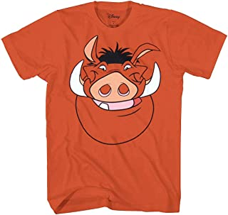 Lion King Disney Character Face Costume T-Shirt