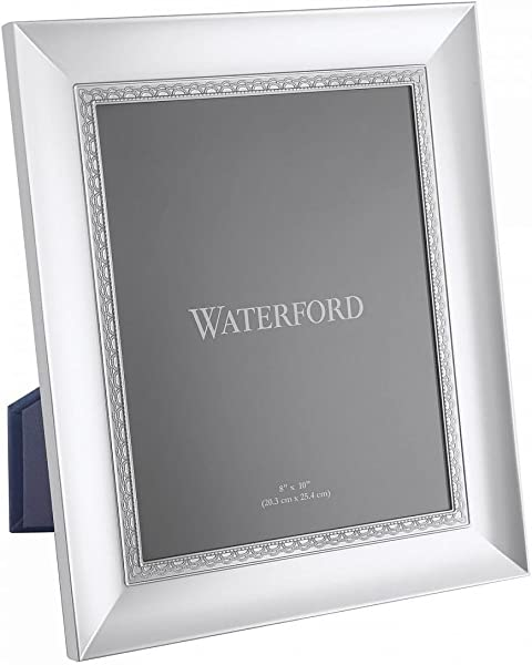 LISMORE LACE Patterned 8x10 Silver Frame By Waterford 8x10