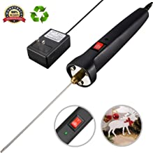GOCHANGE Foam Cutter, Cutting Machine Pen Electric Hot Knife Foam Cutter with Button and Power Light, 100-240V/15W Hot Knife 10CM Styrofoam Cutting Pen with Electronic Voltage Transformer Adaptor
