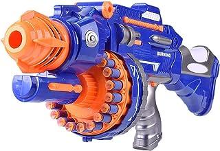 新型の子供は連発してターゲットの軟弾铳を帯びて 模擬電働のおもちゃの铳サブマシンガン (30*18CM)