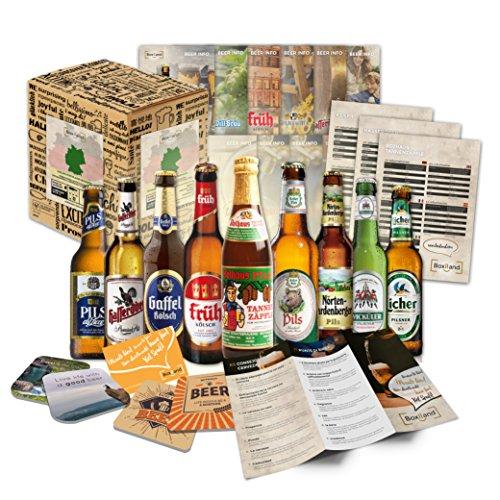 Besten deutschen Biere als Bier Geschenkset Geburtstagsgeschenk für Papa, Geburtstagsgeschenkidee für Männer oder besondere Geschenkideen (9 beste Biere)