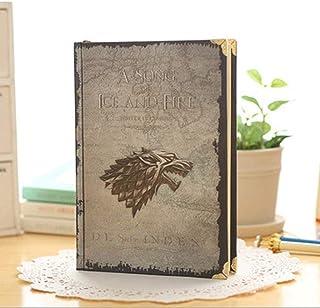 Cuaderno Cuaderno de Cuaderno clásico, Cuaderno de Tapa Dura de Game of Thrones, tamaño: 7.3