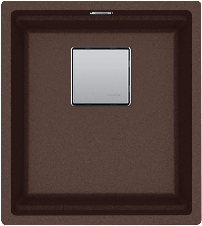Franke Kubus 2 KNG 110-37 Chocolate - 11531 Granitspüle Exzenterbettigung