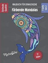 Färbende Mandalas - Malbuch für Erwachsene - Meerestiere: Prächtige Mandalas für die leidenschaftliche | Malbuch Erwachsen...