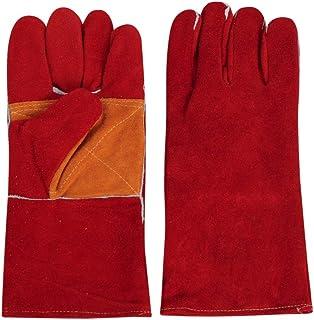 G-MODELL 耐熱グローブ アウトドア 革手袋 BBQ ペットグローブ 噛みつき防止