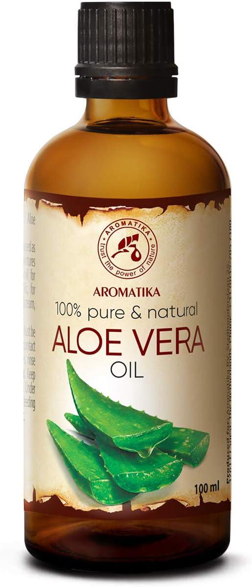 Aceite de Aloe Vera 100ml - Aloe Barbadensis - Brasil - 100% Puro y Natural