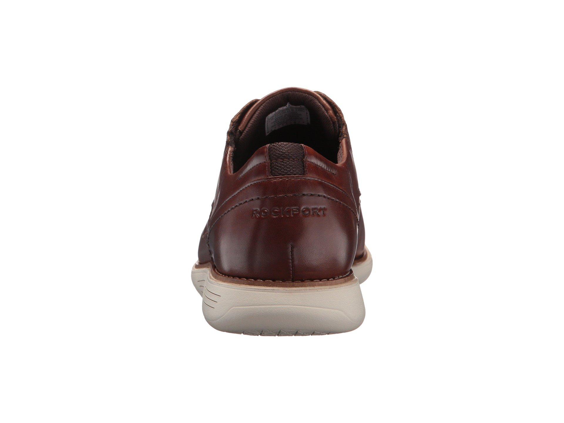 Leather Tan Dress Plain Rockport Total Motion Toe Sports gcZ1t4vWq