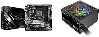 MB ASRock AM4 m ATX D Sub/HDMI/DVI DDR4 Retail   AMD Sockel AM4 (Ryzen)   Micro/Mini/Flex ATX, B450M PRO4 & Thermaltake Smart RGB 500W PC Netzteil