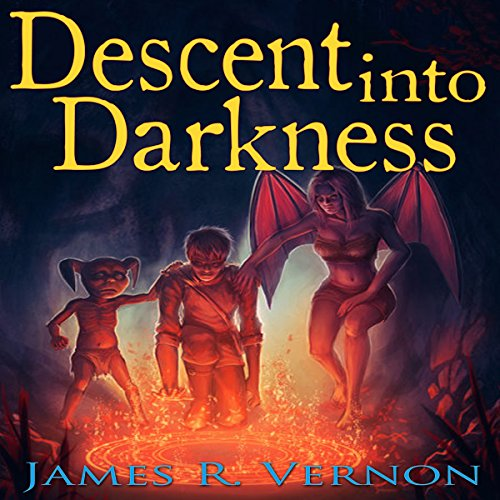 Descent into Darkness, Book 2 audiobook cover art