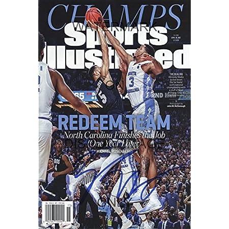 North Carolina Tar Heels National Champs Sports Illustrated Poster Meeks Block!