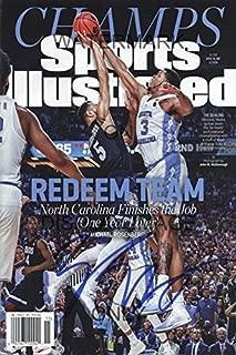 North Carolina Tar Heels National Champs Sports Illustrated Poster - Meeks Block!