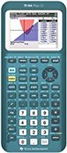 $129 » Texas Instruments TI-84 Plus CE Color Graphing Calculator, Teal (Metallic) (Renewed)