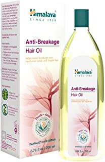 Himalaya Anti-Breakage Hair Oil for Thinning or Brittle Hair & Split Ends, 6.76 oz