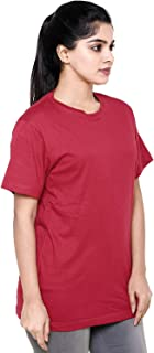 EASY 2 WEAR ® Women Loose Home WEAR T-Shirt (Size S to 5XL) Red