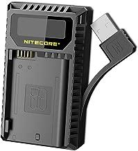 NITECORE UNK2 Dual Port USB Digital Camera Battery Charger Nikon Batteries EN-EL15 LumenTac Adapter