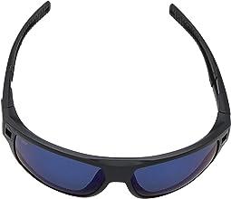 Matte Black Frame/Blue Mirror Lens 580P
