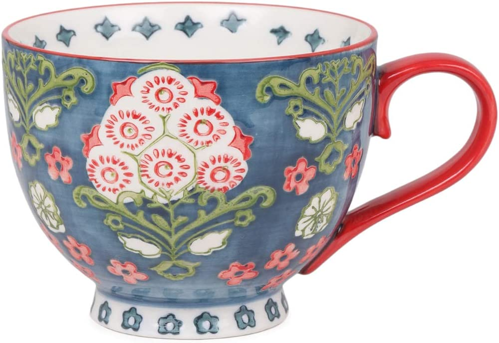 Chumbak Boho Spirit Mug - security Green and Dr Japan Maker New Tea Ceramic Coffee