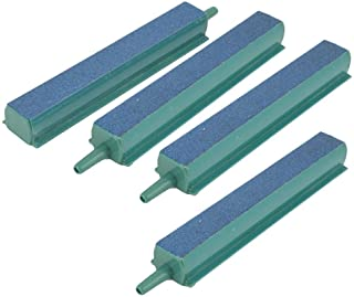 Pawfly 4PCS Air Stone Bar 4 Inch Bubble Release Mineral Airstones for Fish Tank Aquarium Pump