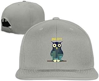 Owl City Album Logo Adjustable Flat Brim Baseball Cap