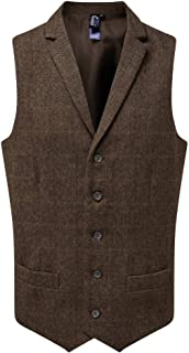 Premier Mens Herringbone Waistcoat
