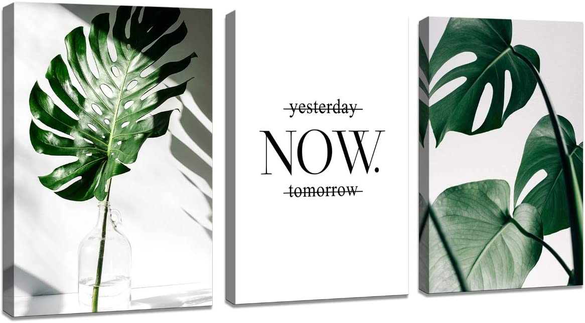 H72534 Wall Art Product Nordic Canvas Modern Plant Leaf Purchase Prints Painting