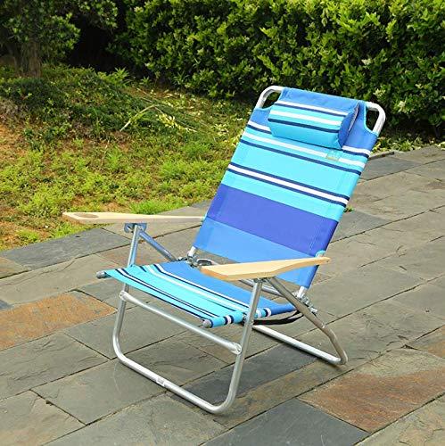 AMhuui Außen Beach Chair Pool Lounge Chair, mit Low Profile Camping Leichte Utopia Breeze Folding Fang Terrasse Schwimmen Freizeit