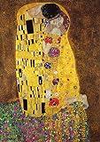 Poster Gustav Klimt Der Kuss - Größe 61 x 91,5 cm -