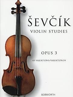 シェフチーク(セヴシック): 40の変奏曲 Op.3/ボスワース社/バイオリン教本
