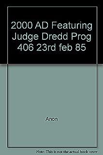 2000 AD Featuring Judge Dredd Prog 406 23rd feb 85