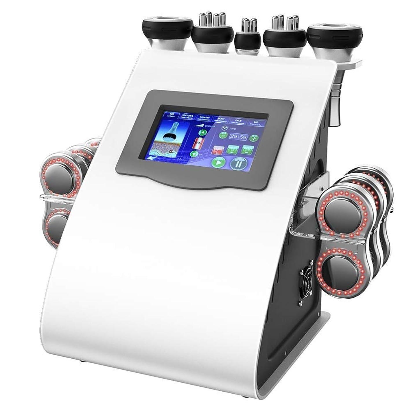 ウィンク目的緩やかな脂肪は機械、機械40K脂肪質バーナーRFの減量の器械の反しわの美装置を細くする超音波キャビテーションの反セルライトの否定的なボディを取除きます