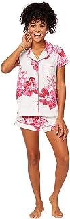 The Cat`s Pajamas Bora Bora Pima Knit Short Set