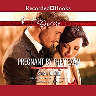 Pregnant by the Texan cover art