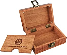 Raw Rolling Wood Box Magnetically Sealed  3.4