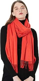 Womens Large Soft Cashmere Feel Pashmina Shawls Wraps Light Scarf