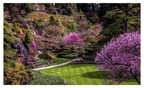 Canadá jardines Butchart en el jardín Vancouver árboles jardín naturaleza muebles & decoración imán imanes de nevera: Amazon.es: Hogar
