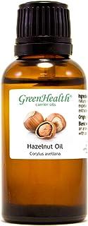 GreenHealth Hazelnut Oil– 1 fl oz (30 ml) – 100% Pure Cold Pressed