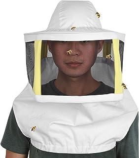 Jeffergarden Sombrero Protector Velo de Apicultura Doble algodón Anti Red de Abeja Apicultura Ap...