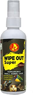 Pet Care International (PCI) Wipe Out Super Spray, a Cage Cleaner, Disinfectant & Deodorizer to Provide Healthy and Clean ...