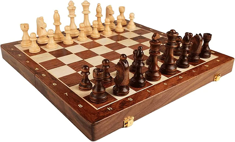 FGDFGDG Chess Set Set: C New life Wood Board Popular product Solid