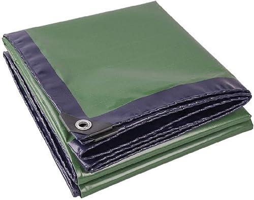 Wereyrtiuy Couteau de bache de bache de Camion Bleu et Vert Deux Couleurs raclage Tissu Toile de Prougeection Solaire imperméable Toile canopée, Taille de bache de Tissu Pare-Soleil Options de Taille