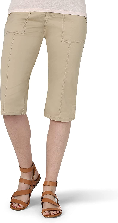 Lee Women's Flex-to-go Utility Skimmer Capri Pant