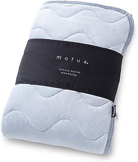 [モフア]mofua うっとりなめらかパフ 敷きパッド ダブル グレー